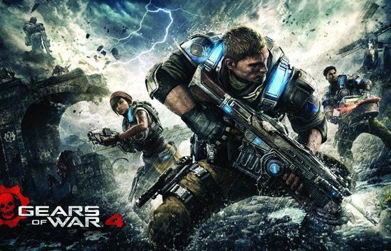 Bebiendo Rockstar Energy Drink tunearemos nuestro equipo en Gears of War 4.