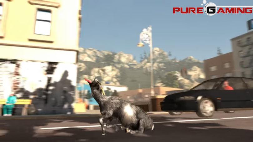 juego raro y absurdo goat simulator
