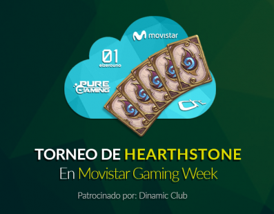 Torneo de Hearthstone en Movistar Gaming Week