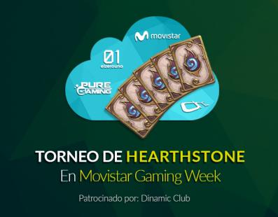 Torneo de Hearthstone en Movistar Gaming Week