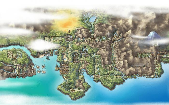 johto regiones de pokémon