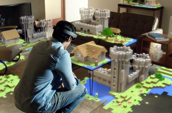 Minecraft en realidad virtual