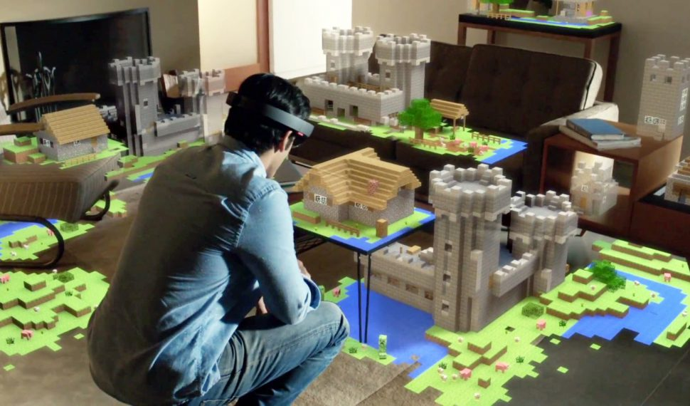 Minecraft en realidad virtual
