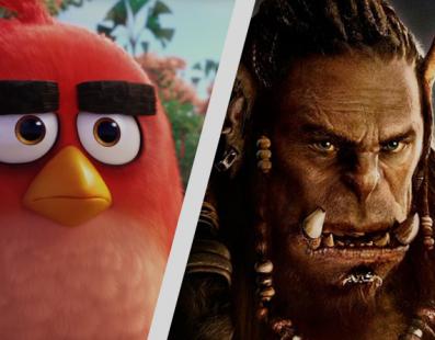Nuevos detalles de las películas de Angry Birds y Warcraft