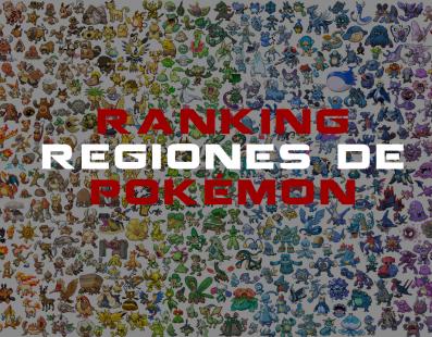 Regiones de Pokémon: ¿Quieres conocerlas todas?