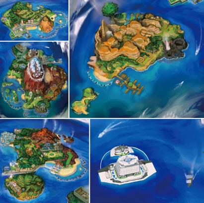 regiones pokémon islas alola