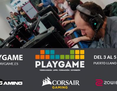 PLAYGAME – tu evento de videojuegos y Gaming en Ciudad Real