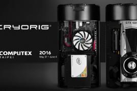 CRYORIG arrasará en diseño de chasis de PC en Computex 2016