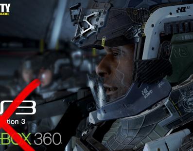 Call of Duty Infinite Warfare no se lanzará en Xbox 360 y PS3