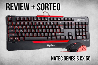 Natec Genesis CX55 | Review + SORTEO
