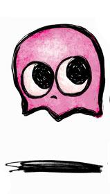 pinky fantasmas de pacman
