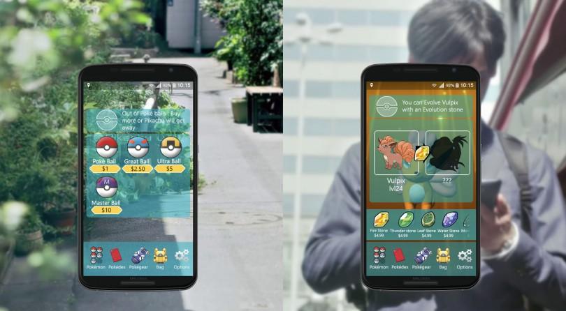 Nuevos detalles de cómo jugar a Pokémon GO