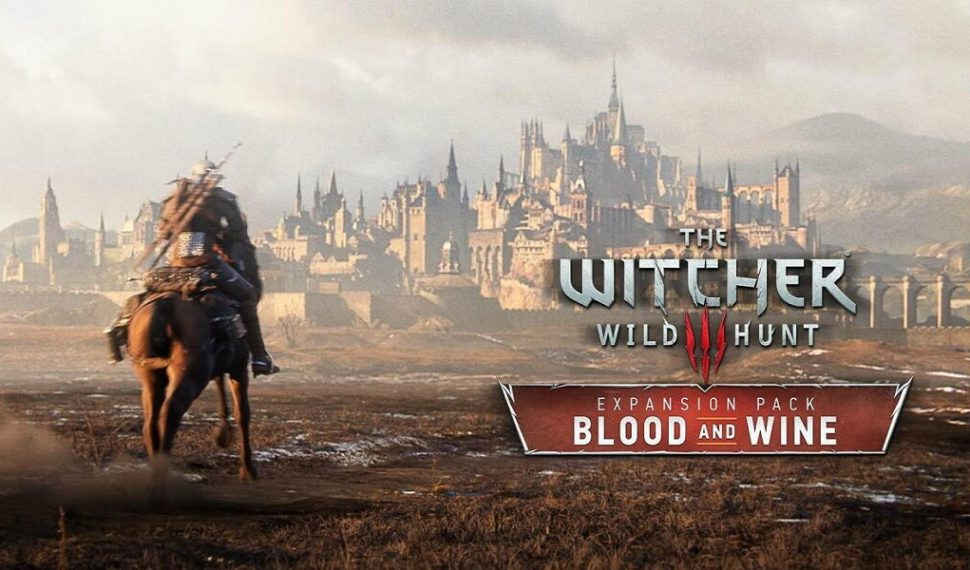 The Witcher 3: Wild Hunt – Blood and Wine sale el 31 de Mayo
