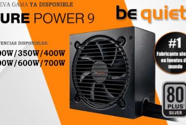 BeQuiet! Lanza Pure Power 9, sus nuevas fuentes de alimentación