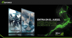 nVidia Promo - Warframe y Warships
