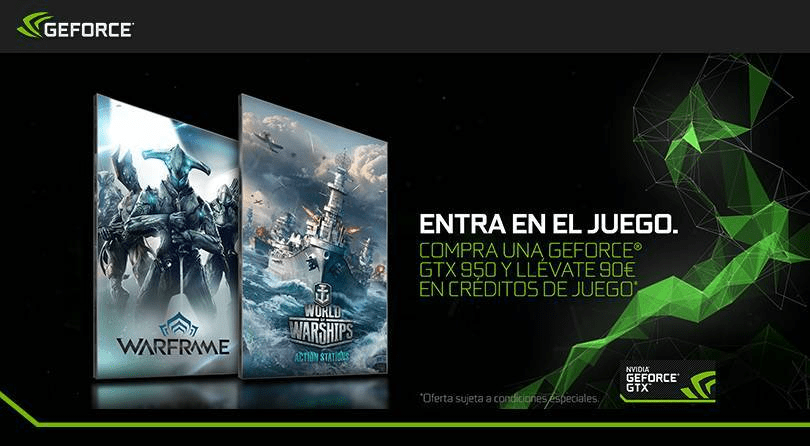 nVidia Promo – Warframe y Warships
