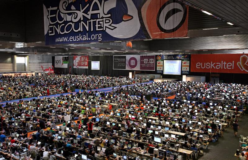 Euskal Encounter 24 – Ven a la mayor LAN PARTY de España
