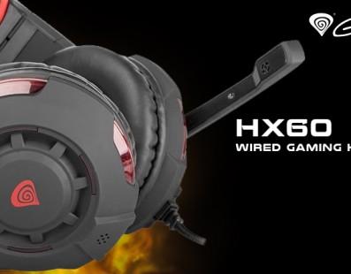 Natec Genesis HX60 – ¡Domina la partida!
