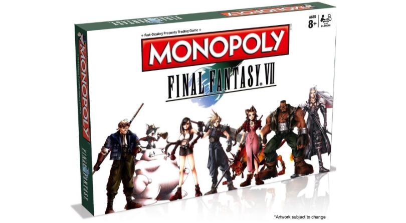 Final Fantasy VII tendrá su edición de Monopoly
