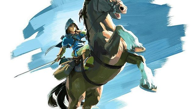 La nueva ilustración de The Legend of Zelda