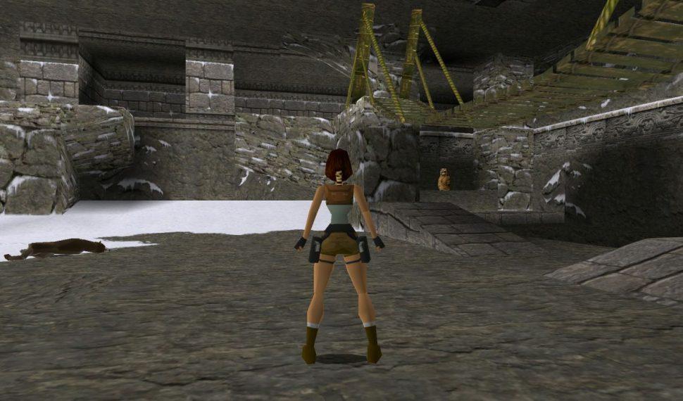 El material pre-apha inédito de Lara Croft