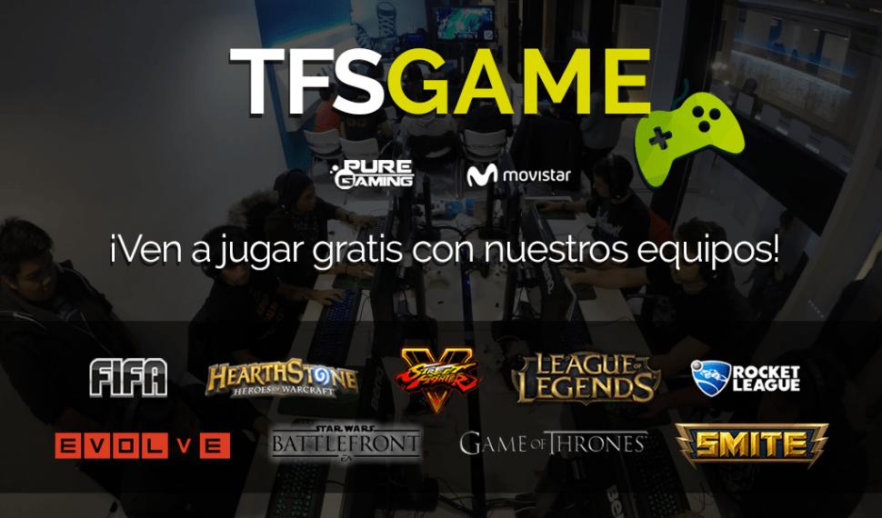 Ven a jugar a TFS Game en Madrid y Barcelona