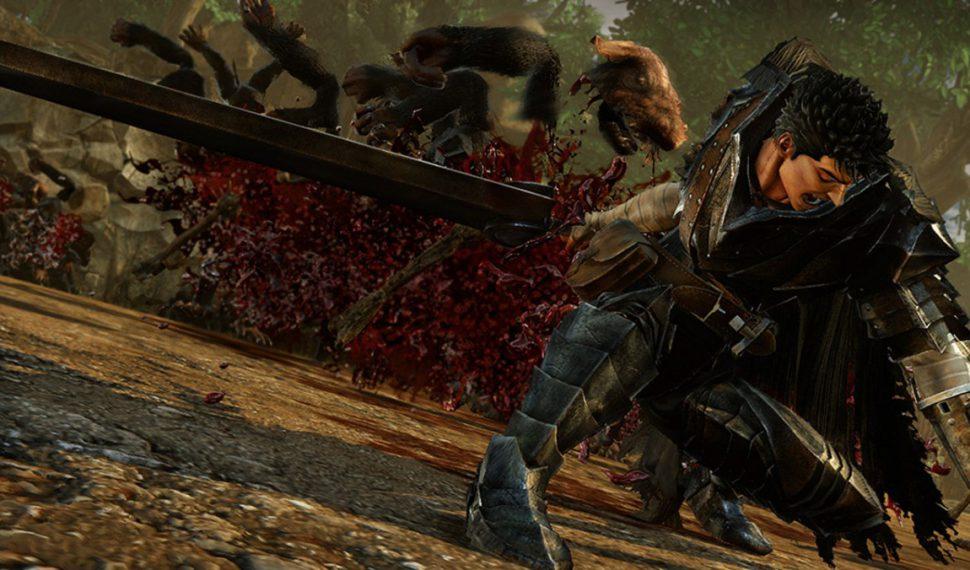 Casca, Judeau, Griffith y Gatsu serán jugables en el nuevo videojuego de Berserk