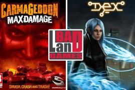 CARMAGEDDON: MAX DAMAGE y DEX mañana viernes en las tiendas