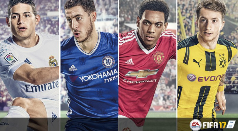 FIFA 17 es el juego más vendido de España en diciembre. Aquí tenéis el ranking completo.