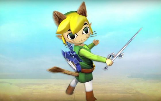 En Monster Hunter Generations nuestro felyne se convertirá en Link