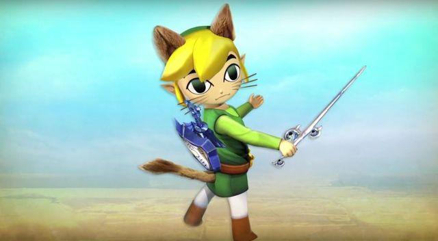 En Monster Hunter Generations nuestro felyne se convertirá en Link