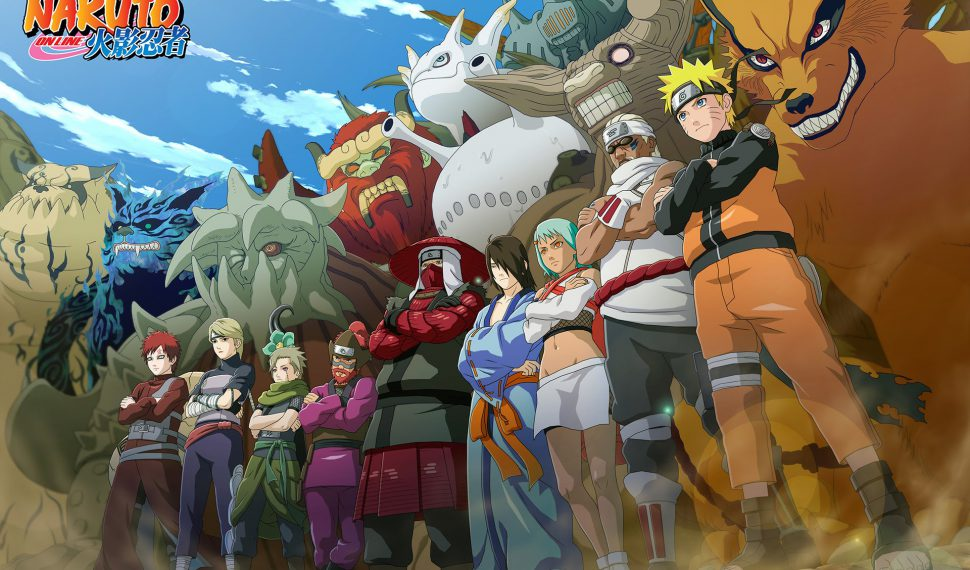 Naruto Online disponible el 20 de julio