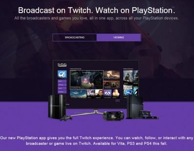 Twitch lanza su aplicación para PS Vita