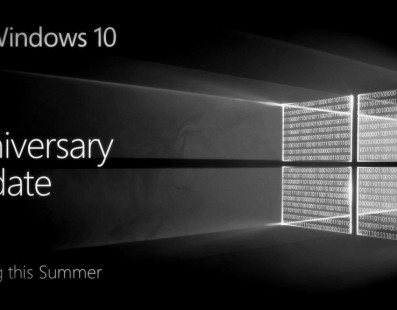 Anniversary, actualización de Windows 10 disponible