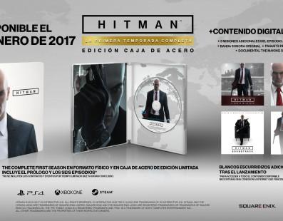 Hitman: Primera Temporada completa a la venta el 31 de Enero