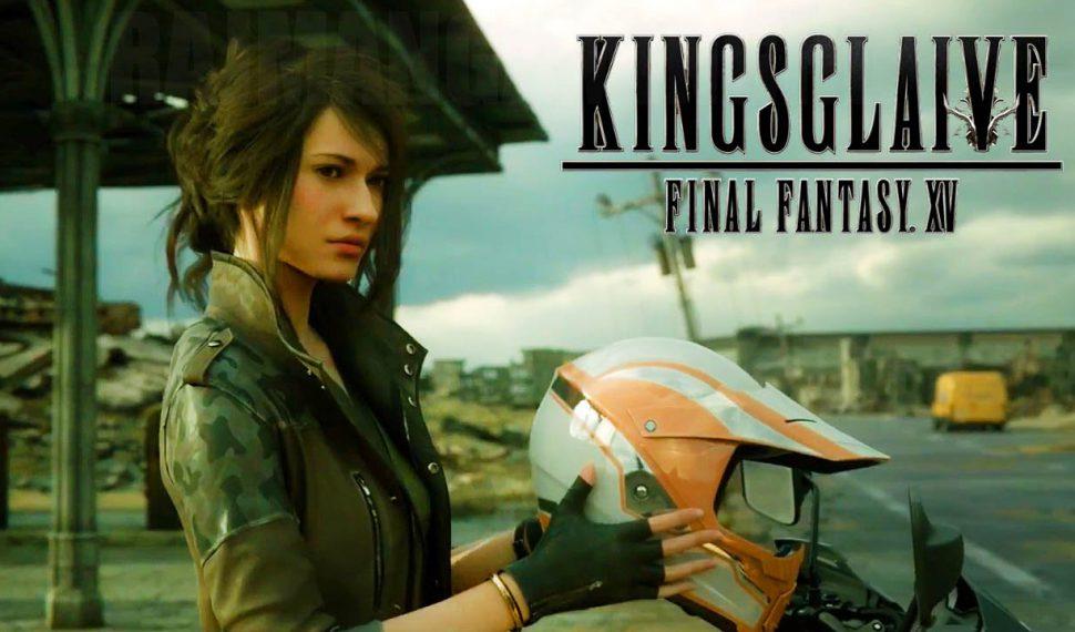 La película de Final Fantasy XV, Kingsglaive, disponible en formato digital