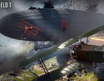 El nuevo gameplay de Battlefield 1 se centra en los vehículos