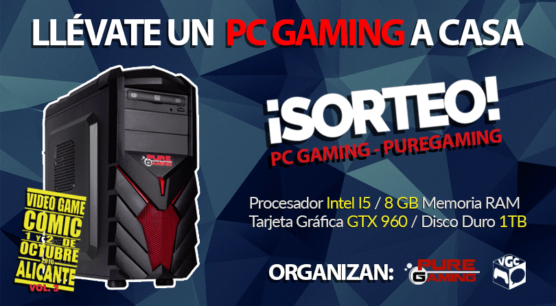 Sorteamos un PC GAMING ¡Participa!