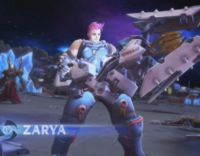 La última gran actualización de HotS incluye a Zarya de Overwatch