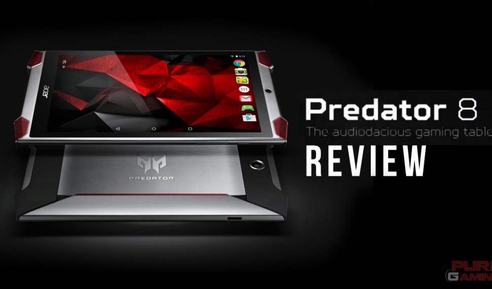 Review de la Tablet Acer Predator 8
