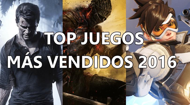 Juegos más vendidos y esperados de 2016