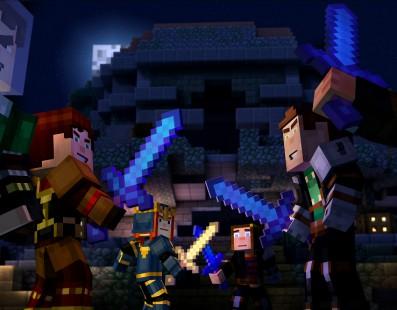 El capítulo final de Minecraft Story Mode disponible el próximo 13 de septiembre