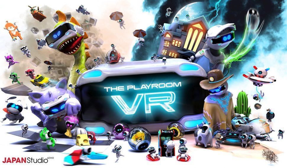 La experiencia de Playroom VR mejorará con PS4 Pro