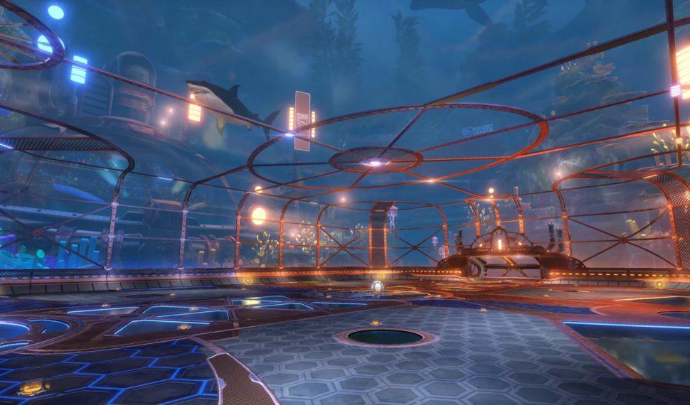 Nuevo escenario bajo el mar en Rocket League