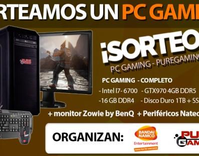 Sorteo PC Gaming completo con Bandai Namco Ent. ¡Participa!