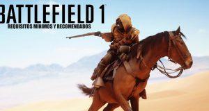 requisitos mínimos battlefield 1 y recomendados
