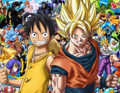 One Piece VS Dragon Ball Z gracias al juego cruzado en Nintendo 3DS