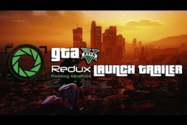 El mod GTA5 Redux para GTA V ya está disponible