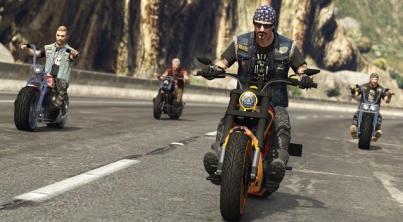 El DLC online de GTAV Bikers llegará en octubre