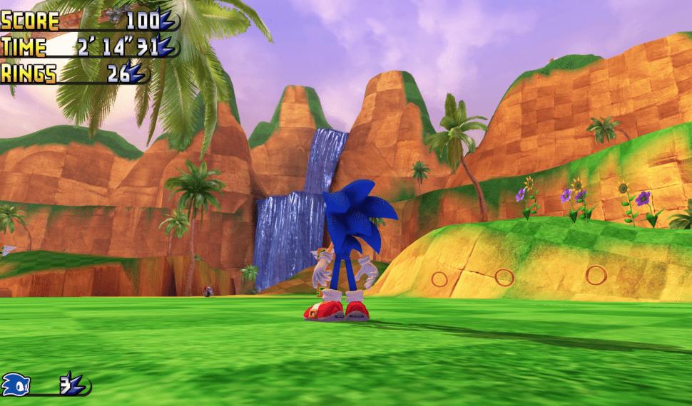 El juego de Sonic en 3D que todo fan querría, y gratis